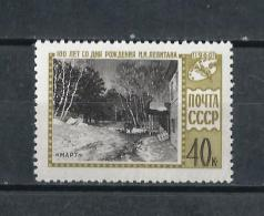 URSS559) 1960 -Levitan - UNIF. 2325  MNH** - Unused Stamps