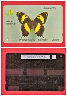 """JAMAICA:1991 JAM-5H """"Papilio Homerus"""" CN:5JAMH Rare (6.357ex) Used - Jamaica"""