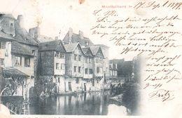 Montbéliard - Vieilles Maisons Sur La Lusine - Envoyée En 1899 - Montbéliard