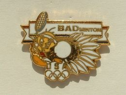 PIN'S BADMINTON - TITI - USA OLYMPIQUE - Badminton