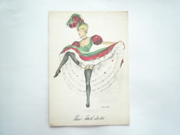 DANSEUSE FRENCH CANCAN - Humour