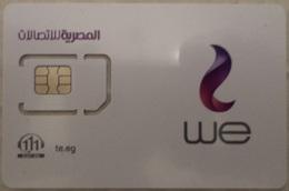 MINT GSM SIM Card WE  (Telecom Egypt) (Egypte) (Egitto) (Ägypten) (Egipto) (Egypten) Africa - Egypt