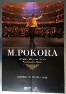 PLAN MEDIA BON DE PRECO AFFICHE PLIEE FORMAT 60X40 M POKORA SYMPHONIE SHOW TRES BON ETAT RARE - Manifesti & Poster