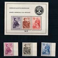 6 WAARDEN 1960  N° 1125/1127 + BLOK 1128/1130  - POSTFRIS   - ZIE 2 AFBEELDINGEN - Belgium
