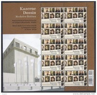 Belgium**World War 2 CONCENTRATION CAMPS & Resistance Museum –SHEET 10stamps-2013-MNH - Belgium