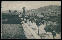 GALIZA - ORENSE - VERIN - Calle De Espada ( Ed. Mateu S. A.)carte Postale - Orense