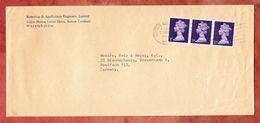 Brief, MeF Machin, Sutton Coldfield Nach Braunschweig 1970 (49568) - Machins
