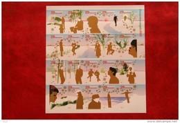 Decemberzegels; NVPH V2115-2134 2115 (Mi 2050-2069); 2002 POSTFRIS / MNH ** NEDERLAND / NIEDERLANDE / NETHERLANDS - 1980-... (Beatrix)