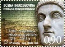 BHHB 2013-358 KONSTANTI GREAT, BOSNA AND HERZEGOVINA, 1 X 1v, MNH - Bosnie-Herzegovine