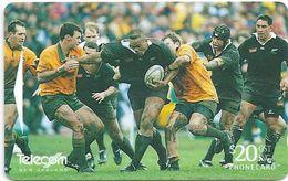 New Zealand - General Issue - Jonah Lomu - 491D0 - 1998, 60.000ex, Used - New Zealand