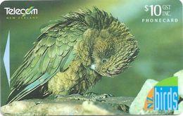 New Zealand - Kea, New Zealand Birds II, 331CO, 200.000ex, 1996, Used - New Zealand