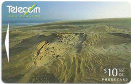 New Zealand - Sand Dunes - General Issue -  321CO, 10$, 1996, 33.000ex, Used - Neuseeland