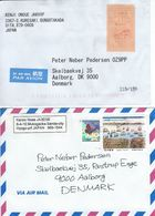 Japan - Airmail. 2 Covers Sent To Denmark.  H-845 - Airmail