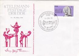 DDR Magdeburg   8. Telemann Festtage Der DDR. Mi: 2606 George P. Telemann. - [6] République Démocratique