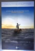 PLAN MEDIA BON DE PRECO AFFICHE PLIEE FORMAT 60X40 PINK FLOYD ENDLESS RIVER TRES BON ETAT RARE - Manifesti & Poster