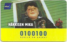 Finland (HPY) - Häkkisen Mika - 06.2001, 30Mk, 9.000ex, Used - Finland