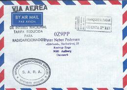 Argentina.  Airmail.  Cover Sent To Denmark.  H-1328 - Poste Aérienne