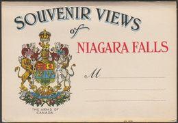 20 Souvenir Views Of Niagara Falls, Ontario, C.1940 - Postcard Views - Niagara Falls