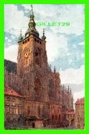 PRAQUE, TCHÉQUIE - LA CATHÉDRALE SAINT VIT - ÉDIT. F. J. JEDLICKA - WRITTEN IN 1921 - - Tchéquie