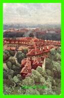 PRAQUE, TCHÉQUIE - LES TOITS DE MALA STRANA - MALOSTRANSKÉ STRECHY - ÉDIT. F. J. JEDLICKA - WRITTEN IN 1921 - - Tchéquie