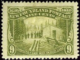 Newfoundland. Scott #100. Unused, OG. F-VF. - Newfoundland