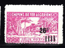 Trein, Train, Locomotieve, Railway, Eisenbahn:  Algerije 1944 CP 187 - Treni