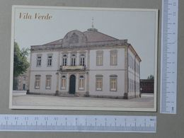 PORTUGAL    - BIBLIOTECA MACHADO VILELA -  VILA VERDE -   2 SCANS  - (Nº21696) - Braga