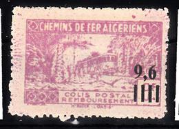 Trein, Train, Locomotieve, Railway, Eisenbahn:  Algerije 1944 CP 139 - Treni