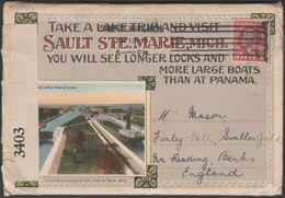 20 Souvenir Views Of Sault Ste Marie, Michigan, 1916 - Postcard Views - Other