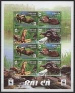 Vietnam (2016) - MS -  /  WWF - Endangered Fauna - W.W.F.