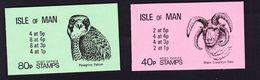 ILE DE MAN CARNET (Booklet) 1980 YT N° C167 Et C168 ** Manx Loaghtyn Ram / Peregrine Falcon - Isla De Man