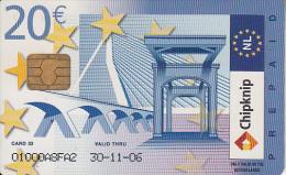 NETHERLANDS - Interpay Multi Card 20 Euro(parking, Phone, Bus, Shopping), 11/04, Used - Public