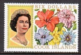 Cook Islands  219   *  FLOWERS - Cook Islands