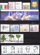1985-87  Mexique, Timbres De 1094 / 1180**, Cote 80 €, - Mexique