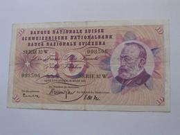 10 Francs SUISSE 1963 - Banque Nationale Suisse - Schweizerische Nationalbank **** EN ACHAT IMMEDIAT ***** - Suisse