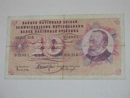 10 Francs SUISSE 1961 - Banque Nationale Suisse - Schweizerische Nationalbank **** EN ACHAT IMMEDIAT ***** - Suisse