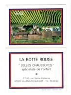 """CALENDRIER 1985 . """" LA BOTTE ROUGE """" . VILLENEUVE-SUR-LOT . PRÉVENTION ROUTIÈRE - Réf. N°18804 - - Calendars"""