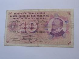 10 Francs SUISSE 1967 - Banque Nationale Suisse - Schweizerische Nationalbank   **** EN ACHAT IMMEDIAT ***** - Suisse