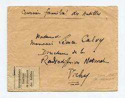 !!! PRIX FIXE : CORRESPONDANCE FAMILIALE EN PROVENANCE DES ANTILLES, LETTRE DE FORT DE FRANCE DE 1942 - Guerre De 1939-45