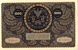 Pologne, 1000 Marek 1919, Pick 29, NEUF, UNC, KFR - Polen