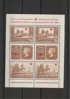 Timbres Sur Timbres ( BF Commémoratif XXX -MNH- De Grande-Bretagne De 1940) - Briefmarken Auf Briefmarken