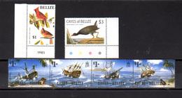 1985    Belize Cayes, Yv. 24 / 29**, Cote 12 €, - Belize (1973-...)