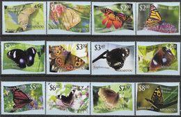 2012 TONGA NIUAFO OU 333-44** Papillons, Découpés,  Côte 90.00 - Tonga (1970-...)