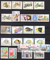 1985-87   Cuba,  Yv.2635 / 2786**+ BF 89 / 98**, Cote 160 €, - Cuba