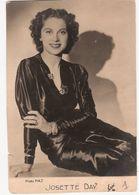 Carte Postale D'artiste / Movie Star Postcard - Josette Day (#6271) - Actores