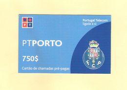 PREPAID PORTO 750 $ PORTUGAL TOP AS ON PHOTO - Portugal