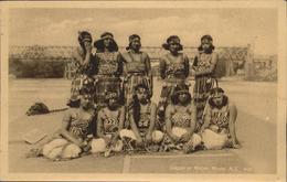 11204643 Maori Typen Group Of Maori Maids Neuseeland - Non Classés