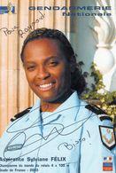 Gendarmerie -  Sylviane FELIX - Championne Du Monde Relais 4x100m 2003- Aspirante Gendarmerie - Sportifs