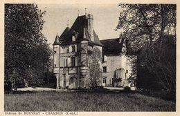 CHAMBON   - Chateau De ROUVRAY - France