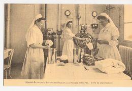CPA 443 - Postcard - Hôpital-école De La Société De Secours Aux Blessés Militaires, Salle De Stérilisation - Salud